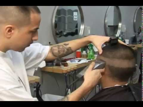 Cortes De Pelo De Hombre   Video Instructional En Espanol   Fade Blow