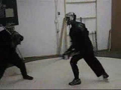 Full Contact Stick Fighting in the Irish style Image 1