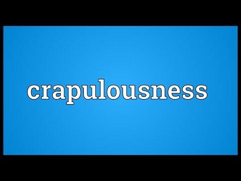 Header of crapulousness