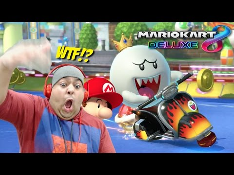 WHEN THE F#%K DID HE BECOME A PROBLEM!?? [MARIO KART 8 DELUXE]