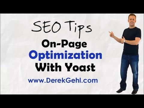 SEO TIP: On-Page Optimization With Yoast SEO Plugin