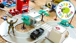 Cars for Kids | Hot Wheels Tomica Fast Lane and Playmobil City for Kids | Videos for Kids