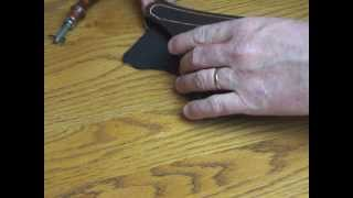 How to make a great IWB holster tutorial
