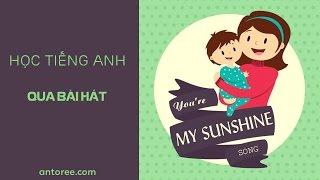 Học tiếng anh qua bài hát || You are my sunshine