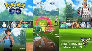Torneo en la Liga Ultra Ball. Liga Primavera Morelia 2019 [Pokémon GO]
