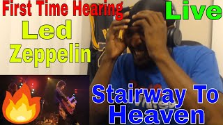 First Time Reacting to Led Zeppelin - Stairway to Heaven Live