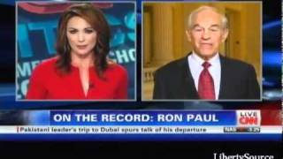 Ron Paul Patiently Educates CNN Reporter Who Tries To Marginalize Him