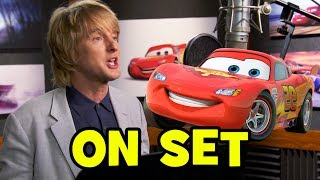 Go Behind The Scenes on CARS 3 - Voice Cast, Movie B-Roll & Bloopers