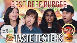 IS SHAKE SHACK THE BEST BEEF BURGER IN SG? | Taste Testers | EP 113