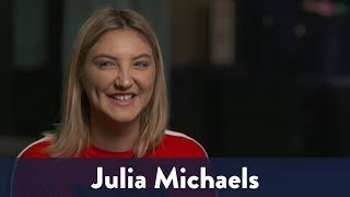 Julia Michaels Says Niall Horan Parties Hard! | KiddNation