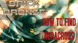 Roblox: Pokemon Brick Bronze - HOW TO FIND HERACROSS + OTHER BUGS!