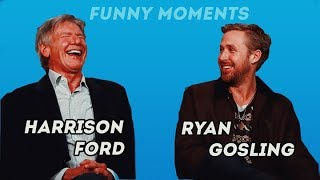 Harrison Ford and Ryan Gosling - Funny Moments