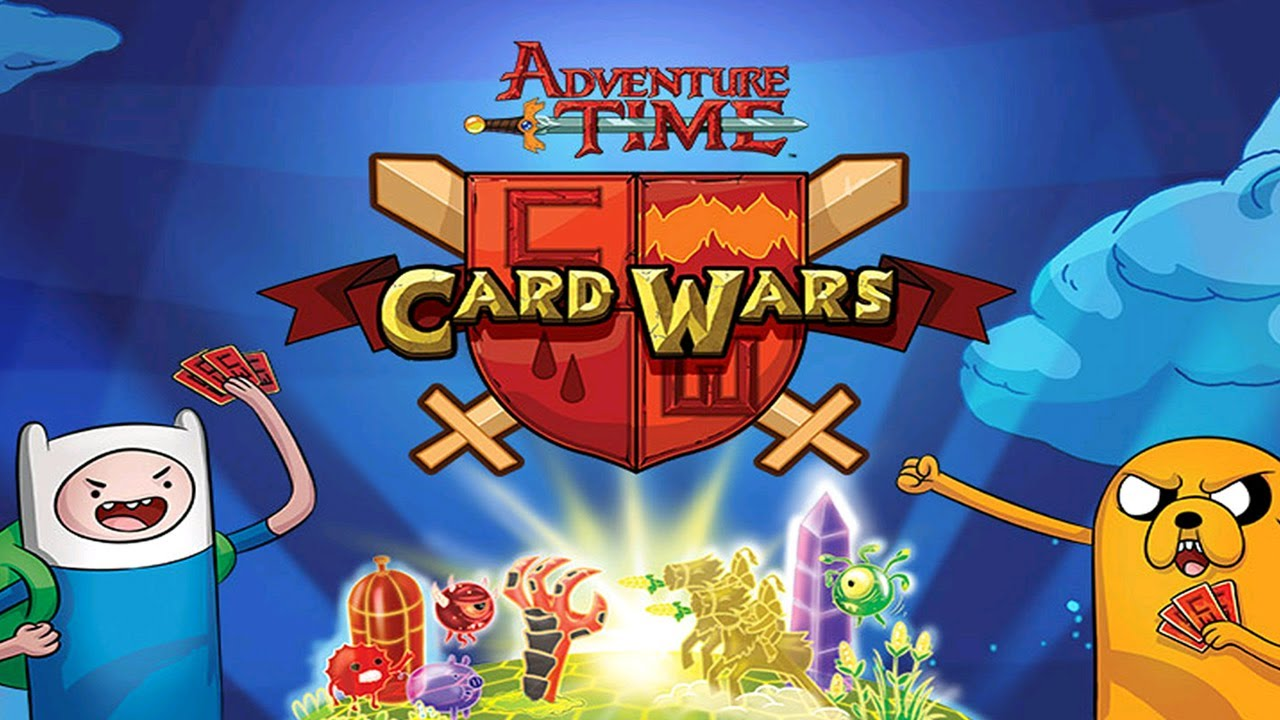 Adventure time card wars universal hd gameplay trailer youtube
