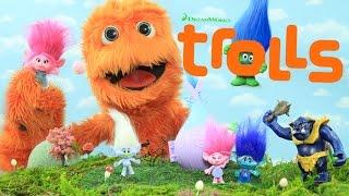Trolls Movie TOYS Unboxing Review Blind Bag Figures Dolls for kids