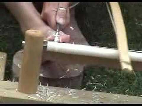 Turning a Spurtle on the Bow lathe