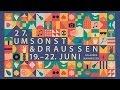 Andreas Kümmert & Closedown & Shady Glamour & WIRTZ @ Umsonst&Draussen 2014 / STAGE diver episode 78