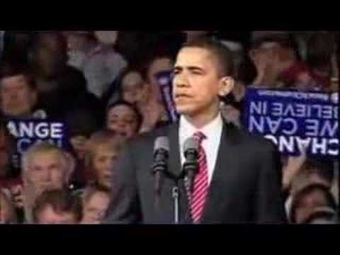 Barack obama speech persuasive techniques