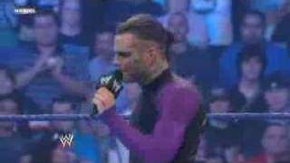 Jeff Hardy say goodbye to WWE Universe