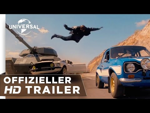 Fast & Furious 6 - Trailer deutsch / german HD