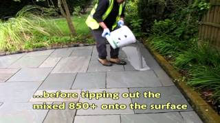 GftK VDW 850 PLUS Pavement Jointing Mortar