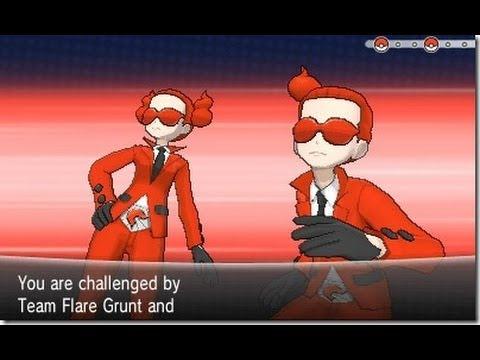Team Flare Grunt Cosplay Pokemon y Team Flare Grunt