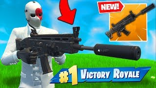 *NEW* LEGENDARY SUPPRESSED AR In Fortnite Battle Royale!