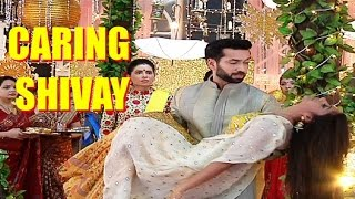 Shivay LIFTS up Anika in his arms IGNORING Tia in Ishqbaaz..