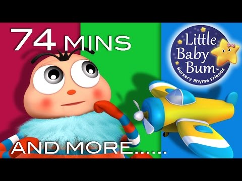 Itsy Bitsy Spider | Part 2 | Plus Lots More Nursery Rhymes | 74 Mins Compilation from LittleBabyBum!