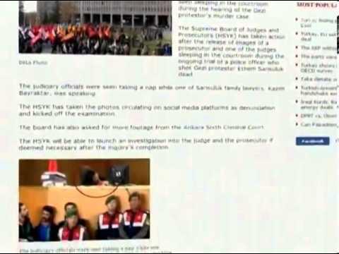 В Турции проверяют, заснули ли судья и прокурор во вр...