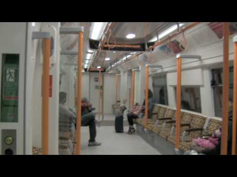 London Overground East London Line - Canada Water to Whitechapel