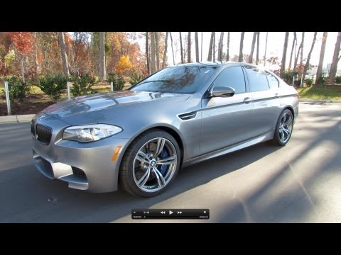 2013 BMW M5 (F10) Start Up, Exhaust, and In Depth Review