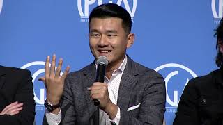 "Actor Ronny Chieng discusses getting cast for ""Crazy Rich Asians"""