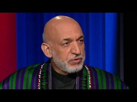 Hamid Karzai: 'We are with the American people'