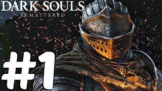 Dark Souls Remastered - Gameplay Walkthrough Part 1 - Asylum Demon & Taurus Demon (1080p 60fps) PS4