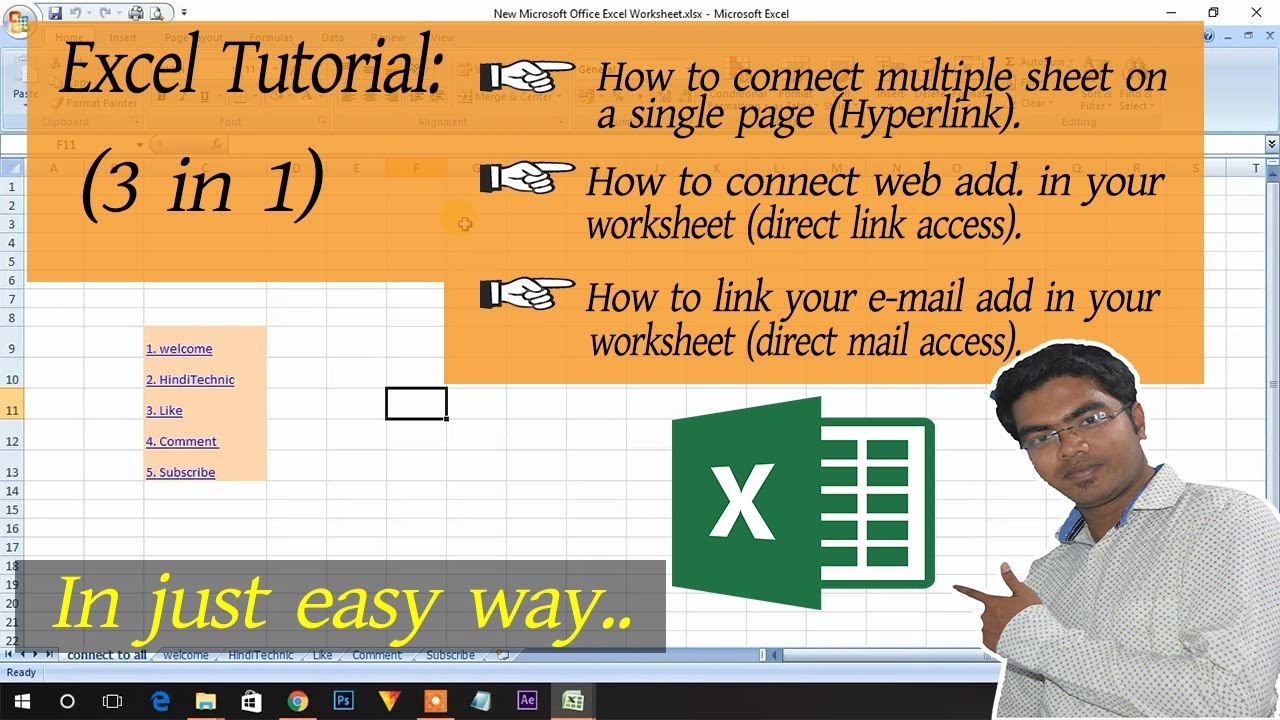 Creating and editing worksheet in ms excel 2007