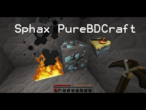 Descargar e Instalar Sphax PureBDCraft para Minecraft 1.6.2, 1.6.4 y 1.7.2