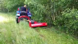 Chinese flail mower (mulcher) 2nd year, still going strong