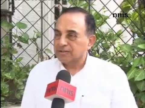 Chidambaram a Complete Idiot and touching Modi would lead to Anarchy - Dr Subramanian Swamy