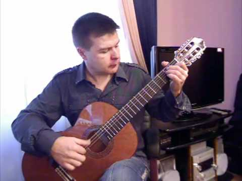 C. Romero. Zapateado (p.4) from Suite Andaluza. Spanish guitar V. Sharii /Шарий