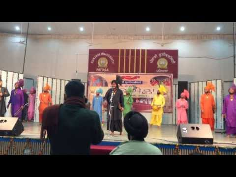 khalsa college patiala malwai gidha 2014 winner team