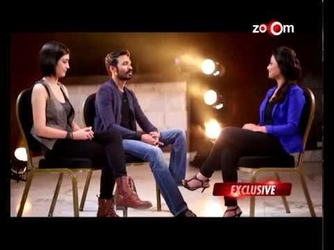 Dhanush & Akshara Haasan Talk To Zoom - Exclusive | Shamitabh Movie video