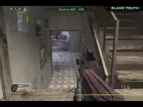 Call of Duty 4 - Team Deathmatch 35 (P90)