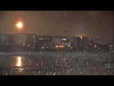 3/21/2013 Northeast, Arkansas Winter Storm Footage