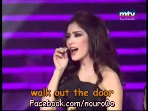 Nour&Lara scandar- ana adra a3esh نور - هيك منغنى