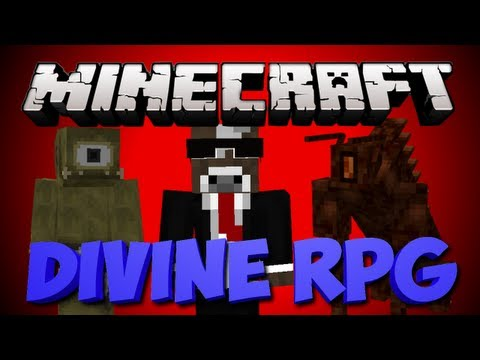 Minecraft: Divine RPG Modded Let's Play   Ep. 5   Entering the Nether & Evil Creatures!