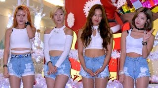 Hyuna-RED & EXID-Up and Down (A New Korean K Pop Girls At Vivacity Megamall)