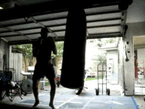 Muay Thai  heavy bag, switch kicks, knees & elbows, high kick combos Image 1