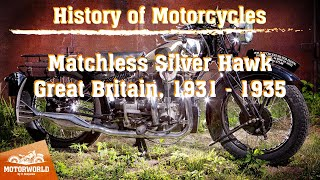 "Matchless Silver Hawk (Great Britain) Trial by ""The Motorworld by V.Sheyanov"" (Russia)"