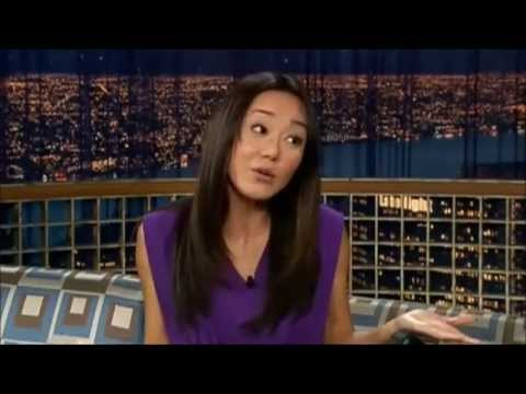 Yunjin Kim on Conan O'Brien