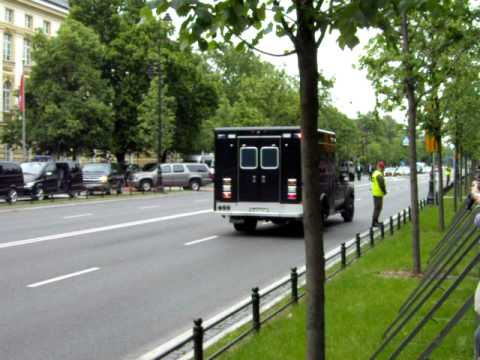 Secret service Ford F550, Counter Assault Team, Obama in Poland